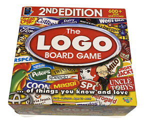 The Logo 2nd Edition Board Game Moose Games - Complete 2009