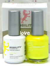 LECHAT NOBILITY LED/UV GelColor & Free Nail Polish Set NBCS053- Yellow