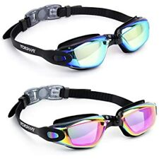 New listing Vorshape Swim Goggles Pack Of 2 Swimming No Leaking Anti Fog Uv Sports &amp