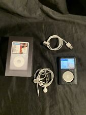 Apple Ipod Classic Silver 80 Gb 6th Gen Excellent Condition Tested Works Great