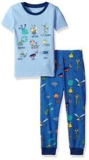 The Children's Place Baby Boys' Short Sleeve Top and Pants Pajama Set,6-9 months