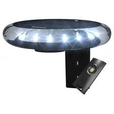 Solar 360 Degree All Round Anchor Light, Solar Charged White LED Navigation