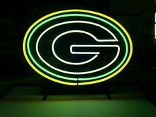 "Green Bay Packers Neon Sign Light 14""x10"" Man Cave Bar Beer Decor Glass"