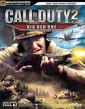 "Good, ""Call of Duty 2"": Big Red One Official Strategy Guide, BradyGames, Book"