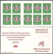 Monaco 2005 Coat-of-Arms/Art/Design/Heraldry/Royalty 10 x 1v s/a bklt (n36656)