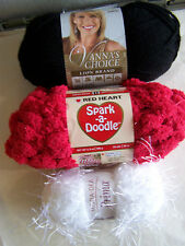 POMP-A-DOODLE Yarn Scarf Kit Select From 14 Colors