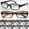 SL190B Ladies Plain Frame Bifocal Reading Glasses Light Tinted Lens/Spring Hinge