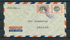 Luftpostbrief Costa Rica 5+75 Centimos nach Zürich - b6928