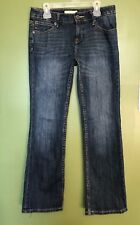 Womens Size 26/2 Petite Banana Republic Bootcut Fit Denim Jeans Guc