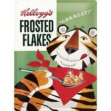 Nostalgie Blechschild - Kellog's Frosted Flakes - Blechschilder