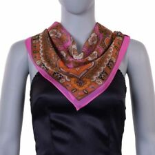 Scarf Multi-Coloured 100% Silk Scarves and Wraps for Women