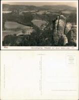 Ansichtskarte Rathen Mönchstein - Stadt 1940 Walter Hahn:11562