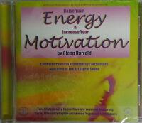 RAISE YOUR ENERGY & INCREASE YOUR MOTIVATION - GLENN HARROLD  AUDIO HYPNOSIS CD