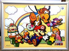 Paper Mario raro de Nintendo N64 Wii 42cm X 60cm Promo Poster