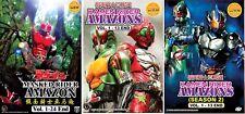 Masked Kamen Rider Amazon (1-24) + Amazons (1-26) ~ 5-DVD SET ~ English Subtitle