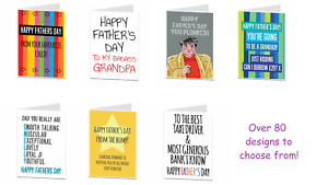 Fathers Day Card For Men Dad Daddy Grandad Grandpa Pops Funny Humour Joke Quirky