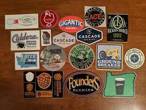 GIGANTIC BREWING blue Ginormous IPA STICKER decal craft beer brewery brewing