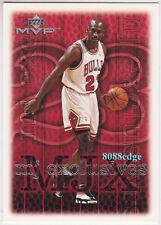 "1999-00 UPPER DECK MVP MJ EXCLUSIVES: MICHAEL JORDAN #207 ""90-26 PLAYOFF RECORD"""
