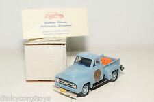 DURHAM FORD F100 HALF TON PICK UP BRICKELLS FARM PUMPKINS 1953 BLUE MINT BOXED