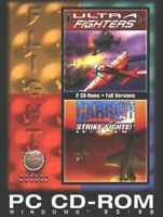 Ultra Fighters/ Carrier Strike IF/ A 18E PC CD-ROM GAMES