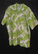 *Bermuda Casuals by Haband*Hawaiian Camp Casual Short Sleeve Shirt Size XL Mens