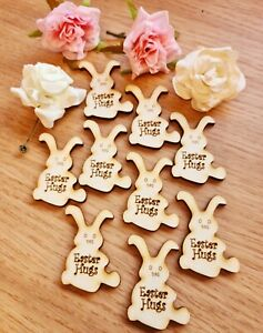 Easter Bunny  Pocket Hug Tags  x 10 in Total /  Free Post