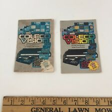 Lot of 2 Coleco Vision Promotional Mini Catalogs 1982 Printed in USA R78201