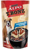 Purina Alpo T-Bonz Steak Shaped Dog Treats Porterhouse Flavor 4.5 oz Bag