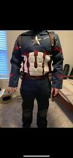 Captain America:Civil War Steve Rogers Cosplay Avengers Uniform Outfit Costume