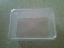 26 Plastic Food Containers with Lids Microwave Take Away Freezer Food. New