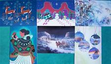 """WINTERCOUNT"" NATIVE AMERICAN ARTISTS X-MAS CARD SET #1"