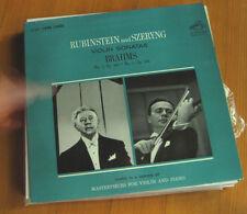 FREE 2for1 OFFER-Rubinstein* And Szeryng*, Brahms* – Violin Sonatas No. 2 Op. 1
