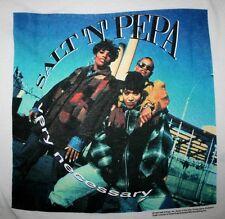 SALT 'N PEPA Very Necessary 1994 T-shirt vtg rap hip hop mens L/XL push it shoop