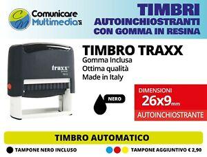 TIMBRO AUTOMATICO 26x9 mm - TIMBRO AUTOINCHIOSTRANTE PERSONALIZZATO