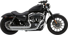 COBRA SPEEDSTER CHROME EXHAUST HARLEY SPORTSTER 883 1200 MODELS 2004-2006