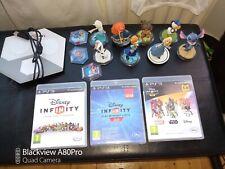 PS3 Disney Infinity Bundle, Games, Figures, Base, 1,2,3