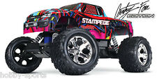 Traxxas Hawaiian Edition Stampede Electric RC 2.4 Truck W/ Battery/Chg TRA360541