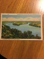 Postcard Blennerhassett Island And Ohio River Parkersburg W VA                #7
