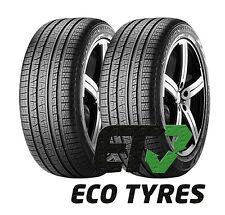 2X Tyres 235 60 R18 107V XL Pirelli Scorpion Verde A/S M+S C C 71dB