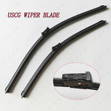 Windshield Wiper Blades For Chevrolet Silverado 1500 2014 15 16 2017 OEM Qualiy