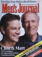 MATT DAMON & CLINT EASTWOOD November 2010 MEN'S JOURNAL Magazine