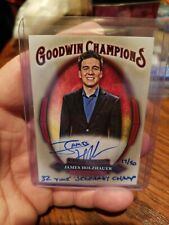 JAMES HOLZHAUER 2020 Goodwin Champions Jeopardy Inscribed AUTO Hand #d 17/50