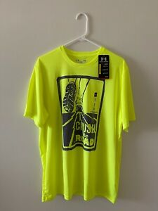 Under Armor Armour Crush the Road Running T-Shirt Brand NWT Large