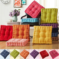 Colorful Thick Corduroy Cushion Pad Seat Chair Patio Car Office Corduroy New