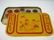 Revoli Paints Painting Full Tin Colors Still Inside Vintage Made in USA