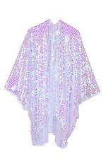 Sequin Kimono-Crystal, Made in USA,Festival Fashion,Rave Wear,Halloween,Costume