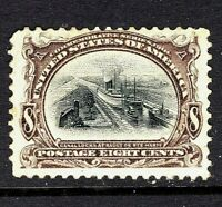 [GF]   US #298 Mint-NH 1901 ~ 8c PAN-AM BICOLOR EXPO  Issue..Ships FREE!