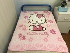 All Season Small Faux Mink Fur Blanket Soft 110cm x 140cm - Hello Kitty Pink