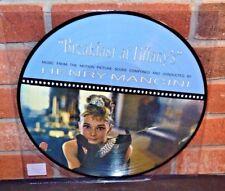 "BREAKFAST AT TIFFANY'S Henry Mancini Original Score, Ltd 12"" PICTURE DISC New!"