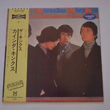 THE KINKS - KINDA KINKS - JAPAN LP PROMO COPY